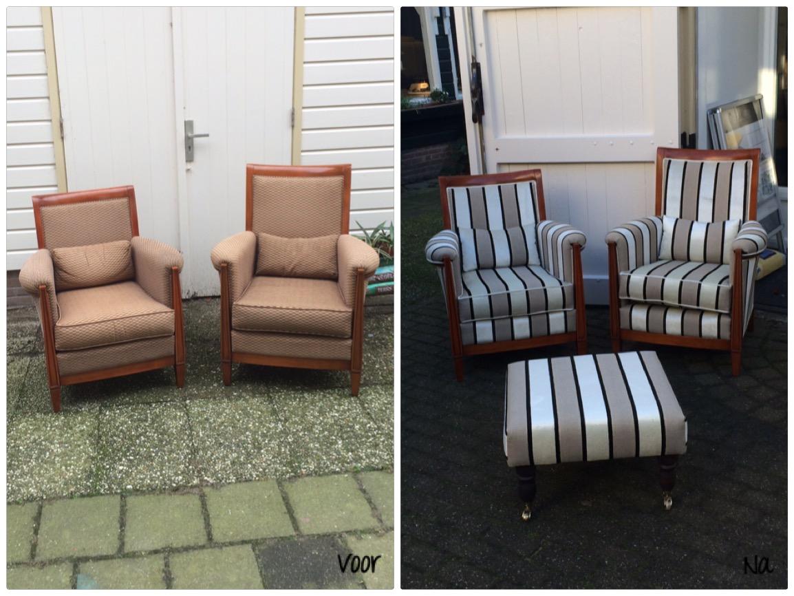 Twee fauteuils